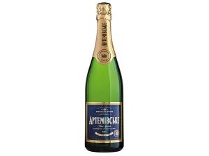 Вино ігристе Артемівське біле брют
