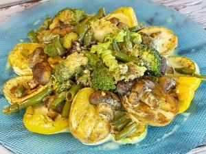 Овочі на грилі/Brasato